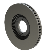 Ventilated Brake Disc, 1-1/4